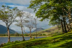 The eastern tip of Loch Awe
