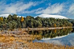Cairngorms National Park, Loch Morlich in October