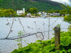 Loch Tay, Loch Tay and Kenmore