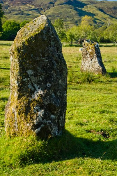 Lochbuie Stone Circle photo, Standing stones in the circle