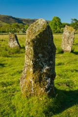 Lochbuie Stone Circle, Three of the standing stones