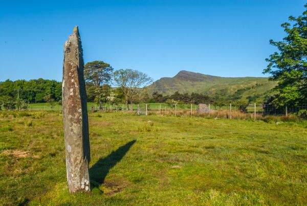 Lochbuie Stone Circle photo, One of the outliers