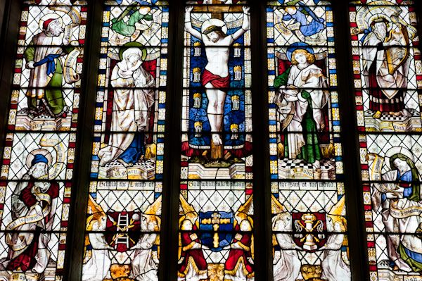 Londesborough, All Saints Church photo, East window