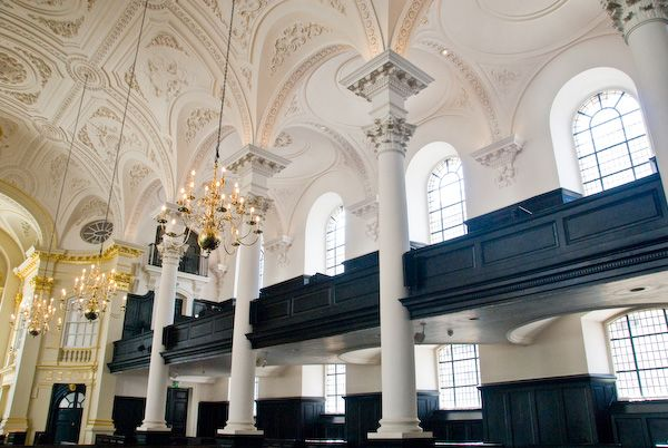 St Martin-in-the-Fields photo, St Martin in the Fields, south aisle
