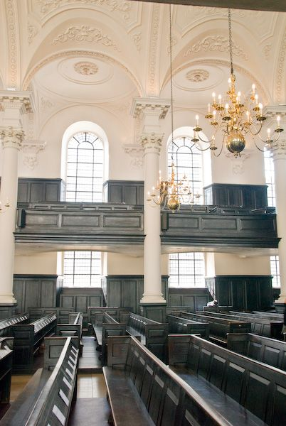 London photo, St Martin in the Fields, classical interior