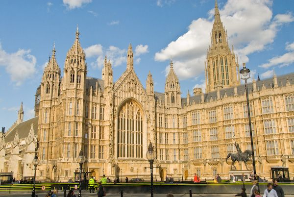 London photo, Palace of Westminster (Houses of parliament)