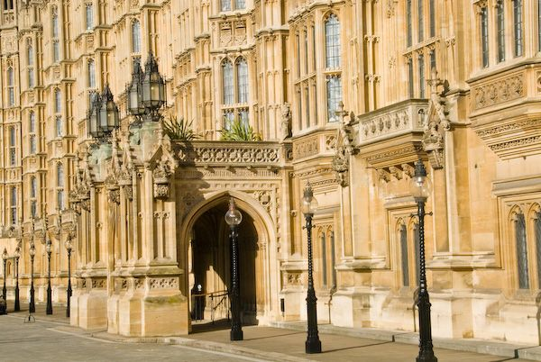 London photo, Houses of Parliament, Old Palace Yard