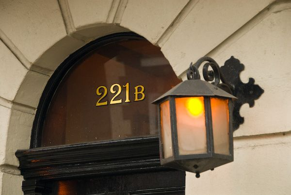 London photo, 221B Baker Street