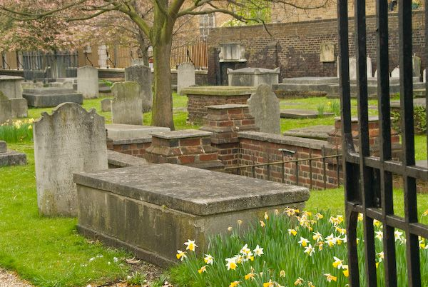 London photo, Chelsea Royal Hospital, Old Burial Ground
