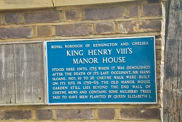 London photo, Henry VIII's Manor House, Chelsea