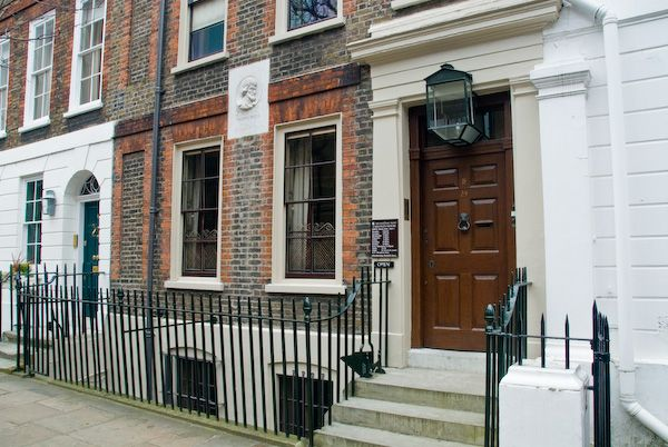 London photo, Carlyle's House, Chelsea