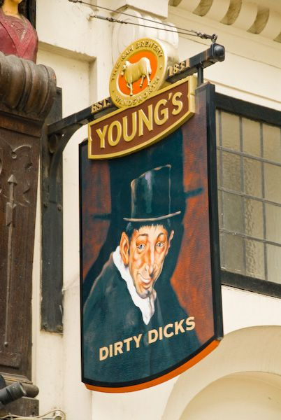 London photo, Dirty Dicks inn
