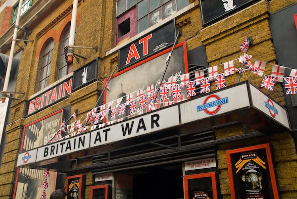 London photo, Britain at War visitor attraction