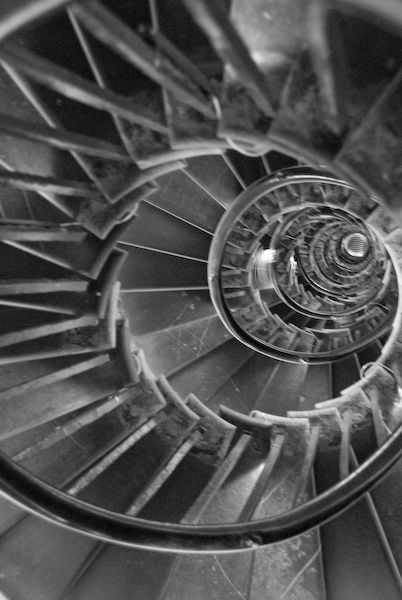 London Monument photo, Spiral staircase