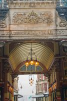 Leadenhall Market entrance