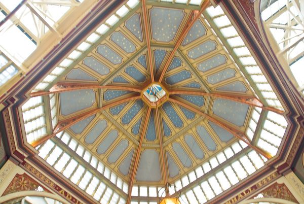 Leadenhall Market photo, Market cupola