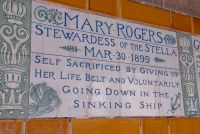 Mary Rodgers memorial tile