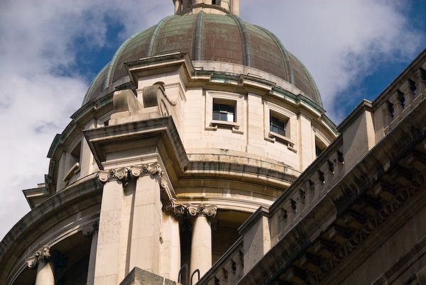 Old Bailey Central Criminal Court photo, Old Bailey dome