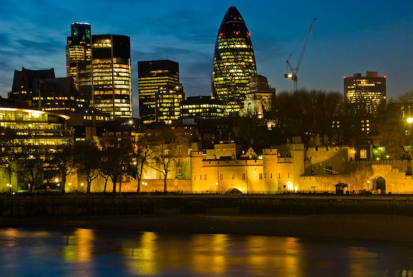 Tower of London photo, Tower of London at night