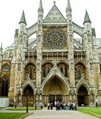 Westminster Abbey, The Abbey entrance