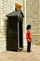 Footguards at the Jewel Tower