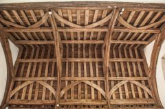 15th century chancel timber roof