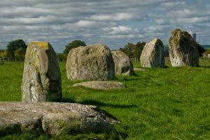 Long Meg and Her Daughters, Long Meg's daughters