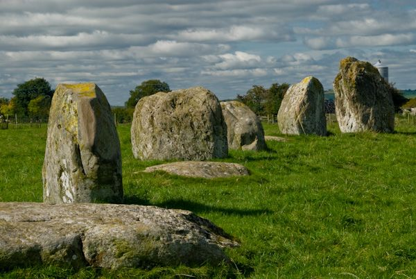 Long Meg and Her Daughters photo, Long Meg's daughters