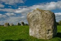 Long Meg and Her Daughters, Standing stone