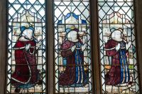 Long Melford, Holy Trinity Church, Medieval stained glass 2