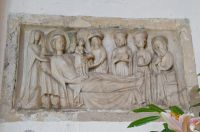 Long Melford, Holy Trinity Church, Adoration of the Magi alabaster