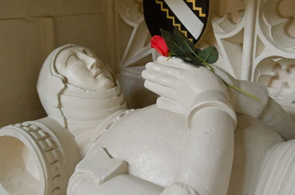 Long Melford, Holy Trinity Church photo, Sir William Clopton effigy