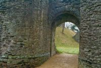 Longtown Castle, Castle gate