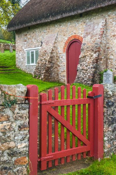 Loughwood Meeting House photo, The entrance gate and path