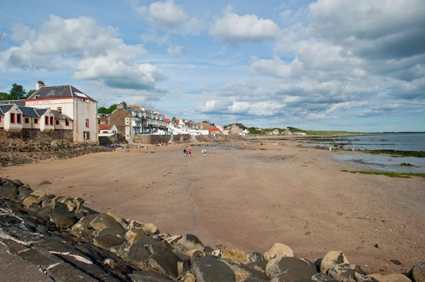 Lower Largo photo, Lower Largo Beach, looking east