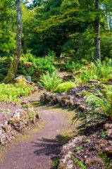 Lowther Castle and Gardens, A trail through the Rock Garden