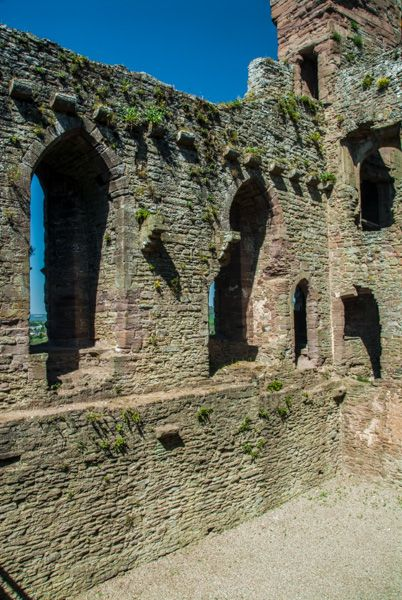 Ludlow Castle photo, Inside the North Range domestic buildings