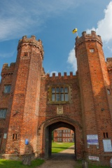 The Tudor gatehouse