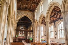 Lyddington, St Andrew Church, The nave and arcades