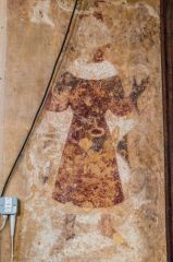 Lyddington, St Andrew Church, Medieval wall painting