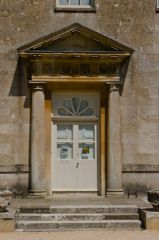 Lydiard House & Park, Main door