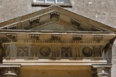 Neo-classical pediment