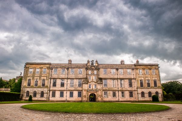 Lyme Park photo, The north facade