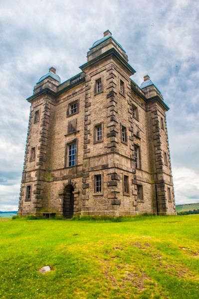 Lyme Park photo, The Cage, a hunting tower in the park