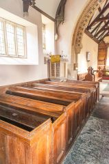 Maddington, St Mary's Church, Box pews in the nave
