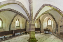 The medieval crypt