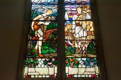 Christopher Whall stained glass window