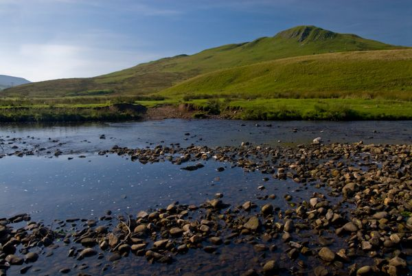 Mallerstang Dale photo, River Eden