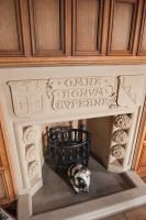 Manderston House, Tower fireplace