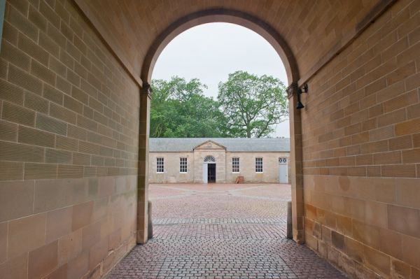 Manderston House photo, Stable entrance